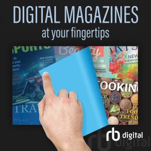 Icon and link for the RBDigital E Magazines