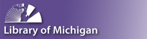 Library of Michigan logo