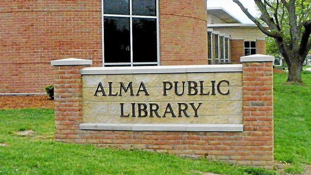 Image of Alma Public Library in Michigan