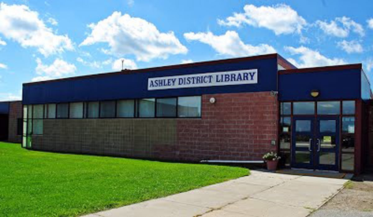 Image of Ashley District Library in Michigan