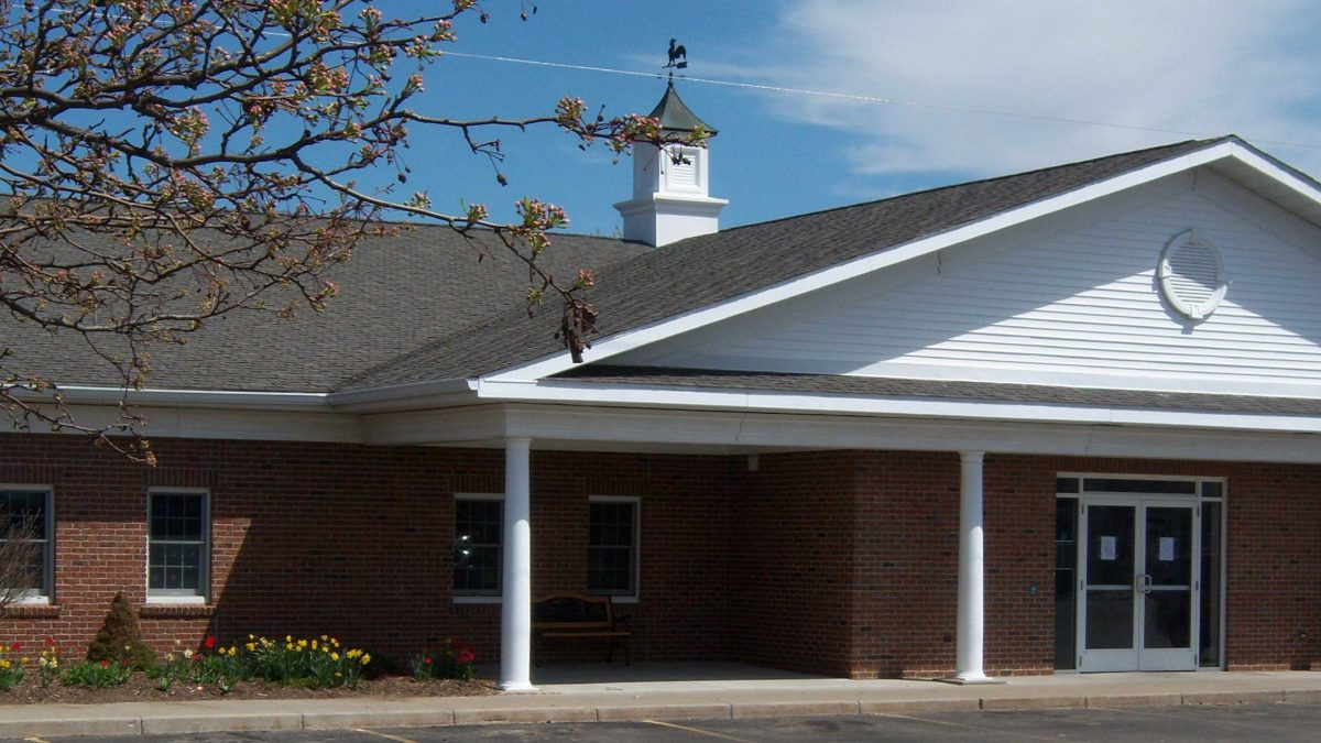 Image of Fleschner Memorial Library in Birch Run Michigan