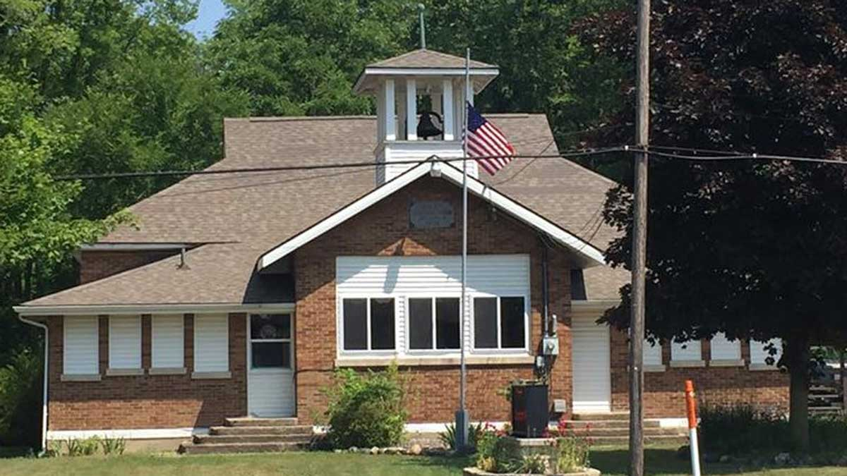 Image of Taymouth Township Library in Burt, Michigan