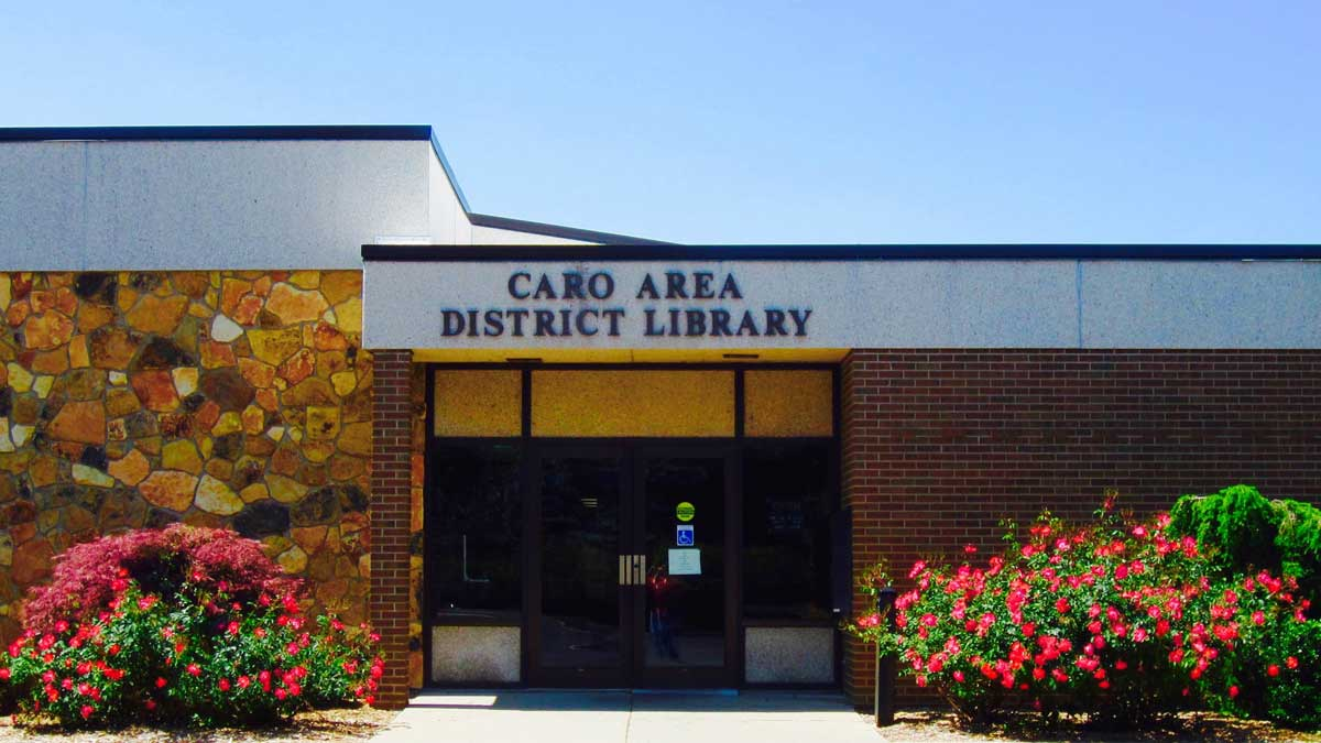 Image of Caro Area District Library in Michigan