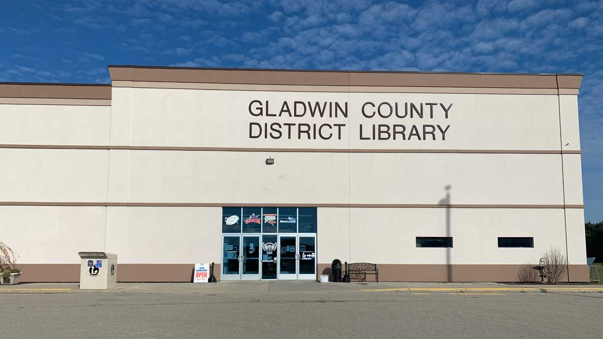 Image of Gladwin County District Library in Michigan