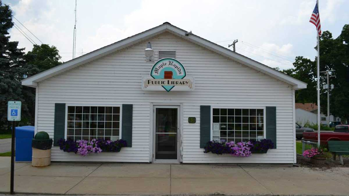 Image of Maple Rapid Public Library in Michigan