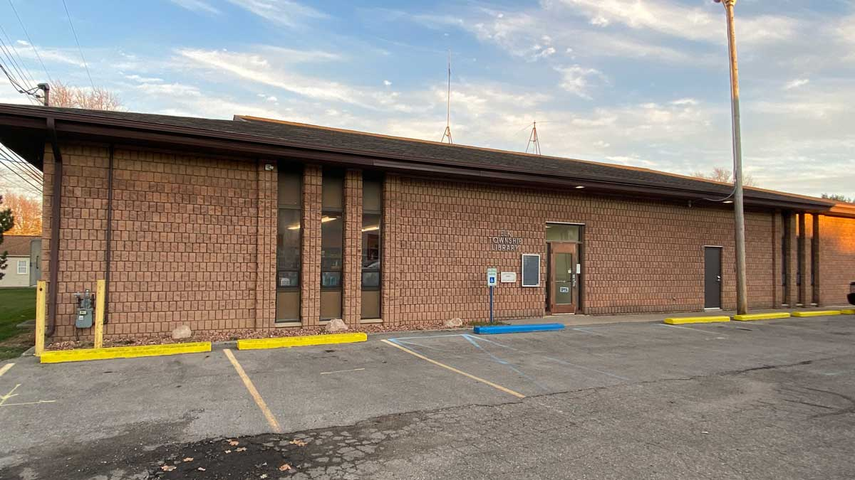 Image of Elk Township Library in Peck Michigan