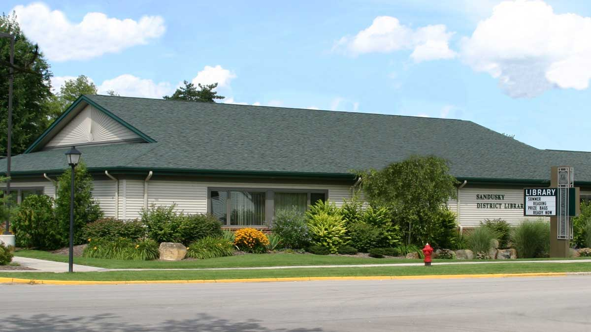 Image of Sandusky District Library in Michigan