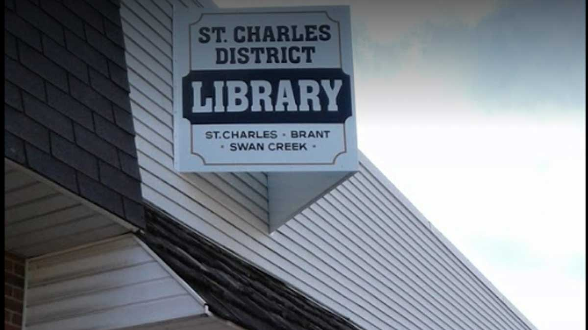 Image of St. Charles District Library in Micigan