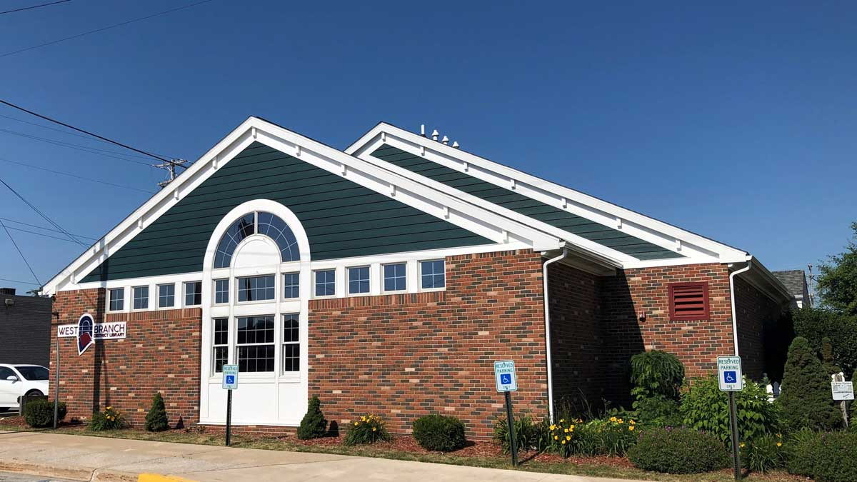 Image of West Branch District Library in Michigan